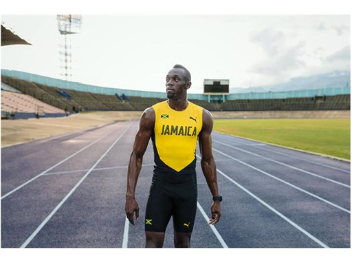 Usain Bolt- PUMA Jamaica Kit