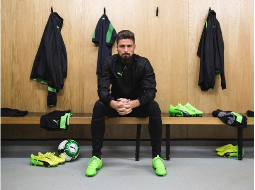 OLIVER GIROUD WEARS THE PUMA evoPOWER VIGOR 1_9