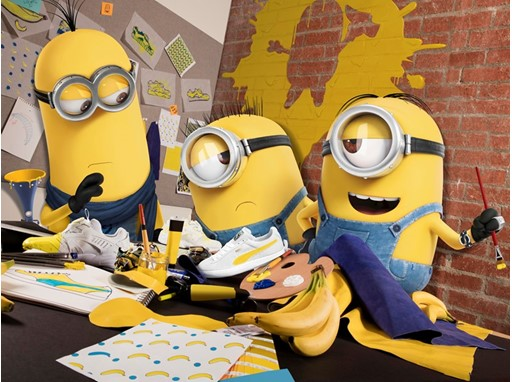 PUMA SIGNS ILLUMINATION'S MINIONS AS NEW CREATIVE COLLABORATORS