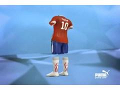 PUMA® Unveils Chile's New Football Team Kit