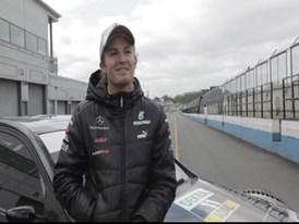 Nico Rosberg Interview in German, PUMA Race Off