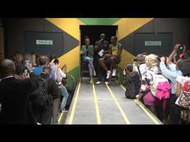 Cedella Marley & Usain Bolt Q & A