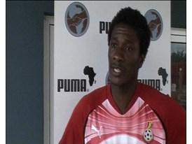 IV Ghana Players (Gyan, Sarpei, Adiyiah)
