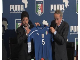 GVs Italy Home and Away Kit Launch, Coverciano, Italy