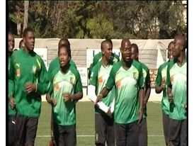 GVs Cameroon Training in the PUMA Africa Unity Kit