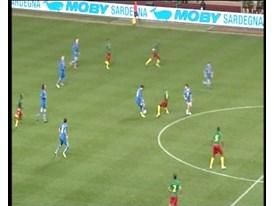 GVs Cameroon vs Italy, Stade Louis II, Monaco (0-0)