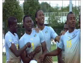 PUMA Play For Life Charity Football Parcour