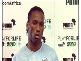 Didier Drogba, Ivory Coast Football Player (English)