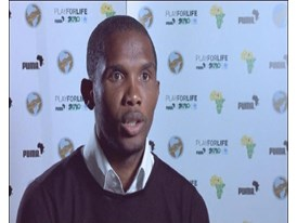 IV Samuel Eto'o, Cameroon Captain (French Answers)