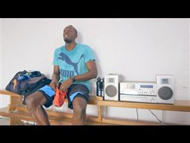 Usain Bolt Prepares for Moscow