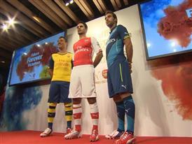 Puma Arsenal Kit Launch B Roll
