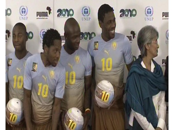 Puma and UNEP Partnership Photocall